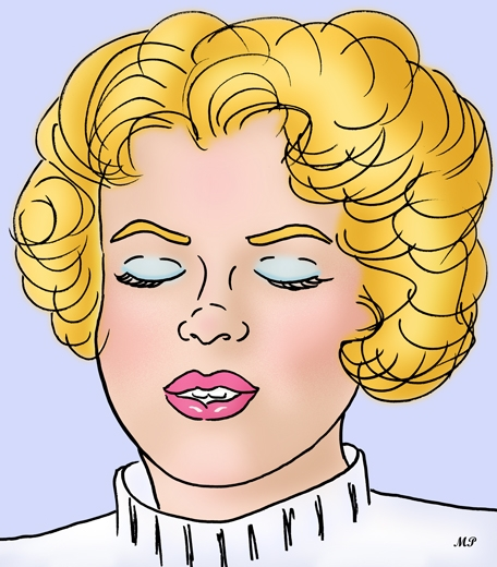 Marilyn Monroe par MP69